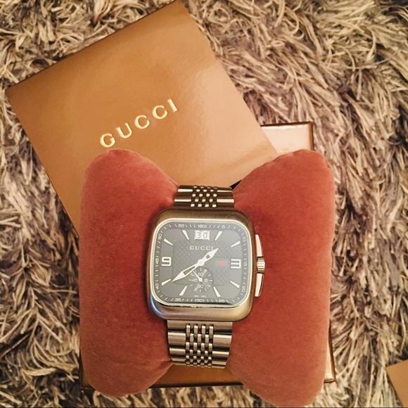 c81f24e726b Brand New Men s Original Gucci G-Coupe Watch